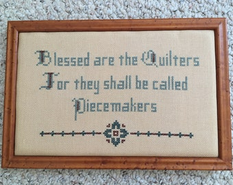 Quilter's Cross Stitch