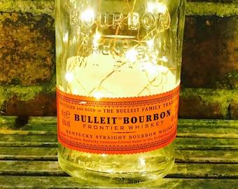 Bulleit Bourbon Whiskey Light, Battery Operated, LED