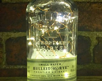 Bulleit 95 Rye, Battery Operated, LED