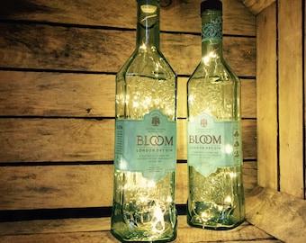 Bloom London Dry Gin Light, Battery Operated, LED (single bottle)