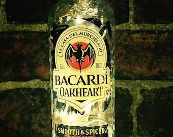 Bacardi Oakheart Dark Rum Light, Battery Operated, LED
