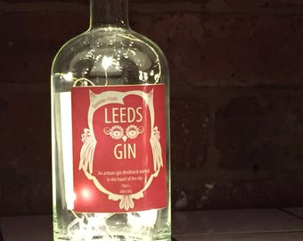 Leeds Gin Light, Battery Operated, LED