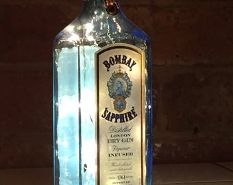 Bombay Saphire Gin Light, Battery Operated, LED