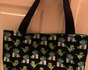 The World's Best Tote Bag / Purse- Cute Godzilla