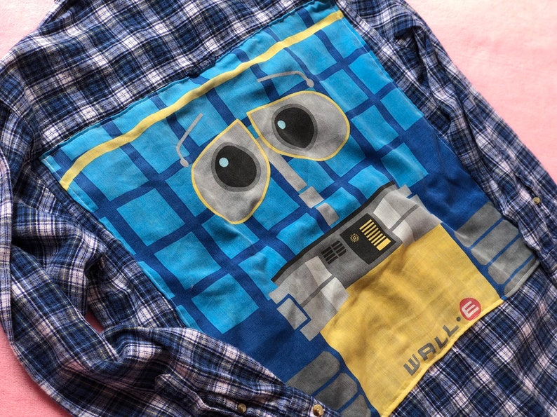 Disney Pixar Wall-E Flannel