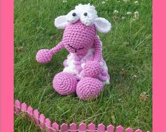 Plush - Toy - sheep - AMIGURUMI - crochet
