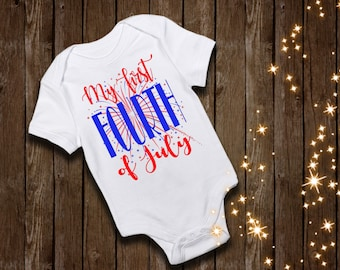 7348540450398 fourth of july shirt my first fourth of july shirt indipendence day shirt  fireworks shirt