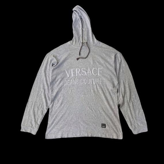 Vintage Versace Embroidery Hoodie