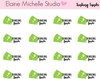 Sinking Funds-Planner stickers