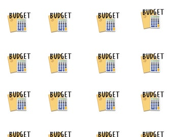 Budget Icon Planner Stickers