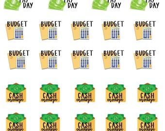 Money Management Planner Stickers