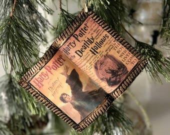 HP Deathly Hallows Themed Ornament