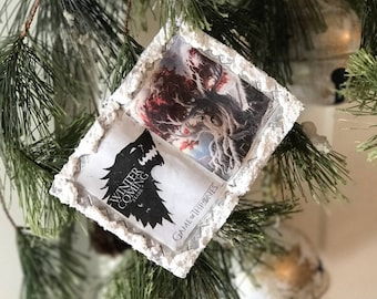 Winter is Coming Themed Ornament