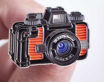 Nikon Nikonos 35mm Film Camera Enamel Pin