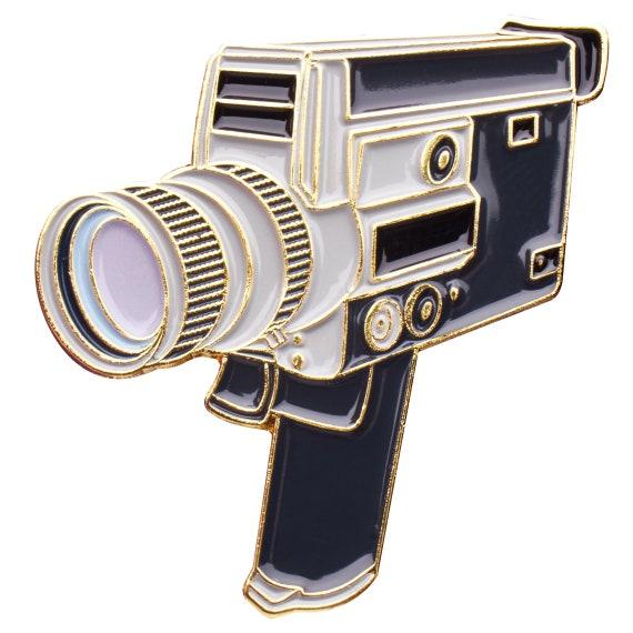 Canon Super Auto Zoom 8mm Enamel Pin