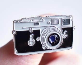 Classic Rangefinder Film Camera Pin