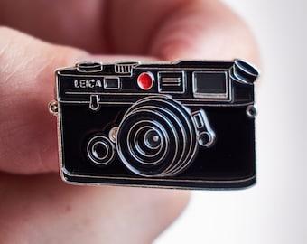 Rangefinder Film Camera Pin