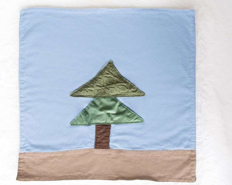 Lone Pine Baby Lovey / Tactile lovey with Crinkle image 0