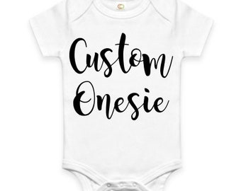 Custom baby onesie etsy best selling items negle Images