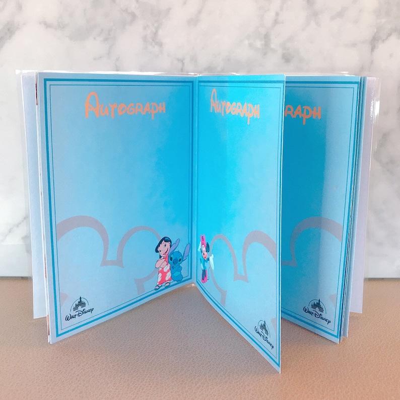 Disney Mickey Mouse Passport and Autograph Book  Surprise Disney Trip