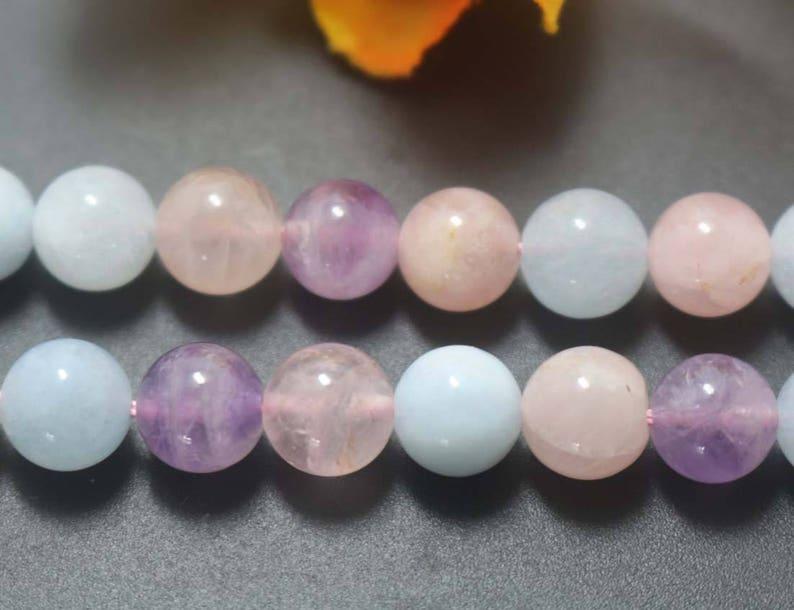 Natural Lavender Quartz Beads,6mm 8mm 10mm 12mm Dream Purple Quartz Beads,Smooth Round beads supply.15 strand