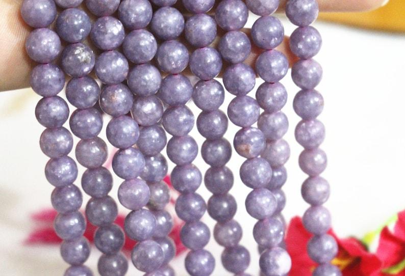 Natural purple Tourmaline Beads,6mm 8mm 10mm 12mm purple Tourmaline Smooth and Round Beads,Tourmaline Beads.15 strand
