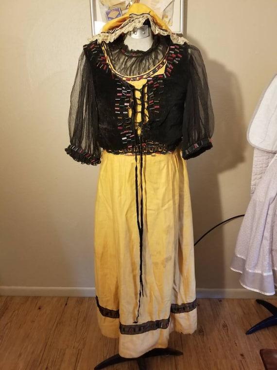 Antique costume