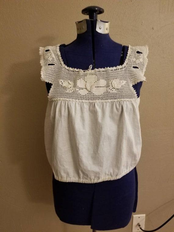 Antique Edwardian/1910s corset cover