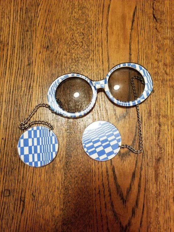Je dol 1960s 1970s mod sunglasses