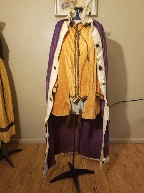 Antique or Early vintage king costume