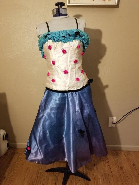 1950s showgirl costume