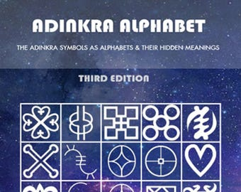 Adinkra Alphabet, Third Edition