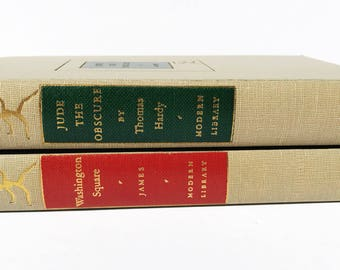 Vintage Hardcover Books in Christmas Motif