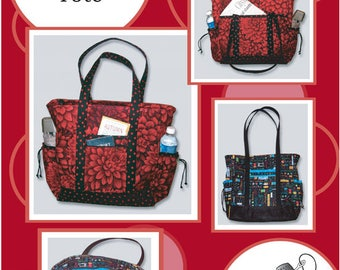 URSULA /& EMILY PURSE Pattern by The Creative Thimble pocketbook bag tote