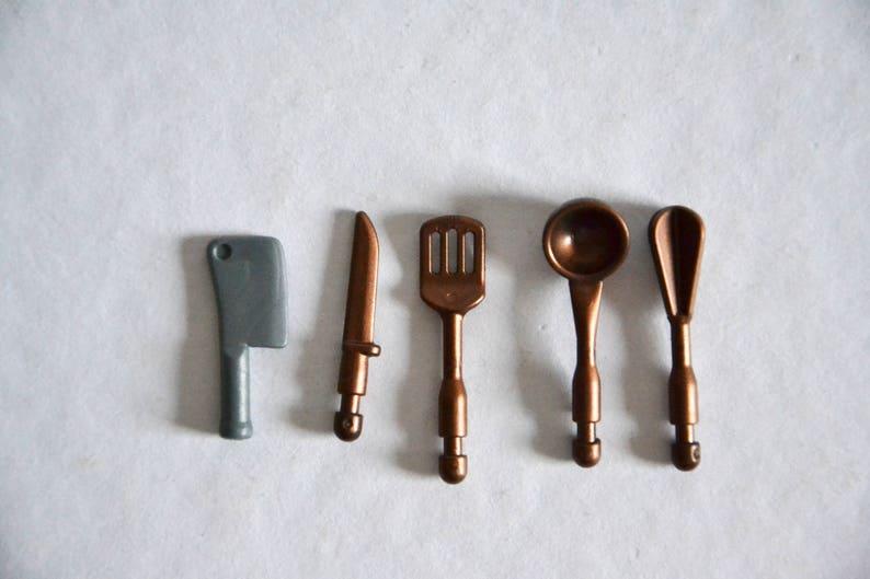 Vintage Keuken Accessoires.Vintage Playmobil Keuken Accessoires Mes Hackebeil Spatel Lepel Roerwerk Decoratie Keuken Cadeau Hobby Koken Accessoires Keuken Koken