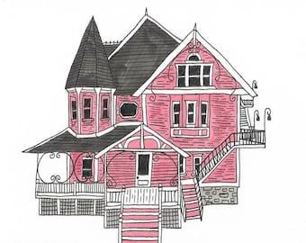 Pink Palace Coraline Etsy