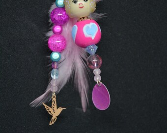 handbag charm / Keyring