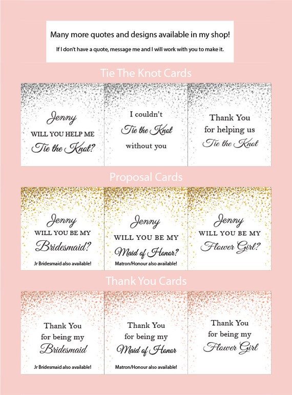 Will you be my Maid of Honor Gift Box, Maid of Honor Proposal, Personalized  Maid of Honor Bracelet, Asking Bridesmaid Jewelry, Tie the knot