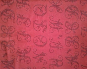 Madam red happiness 13772-11 Moda Fabric
