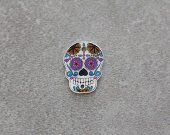 Mexican skull for creating jewelry