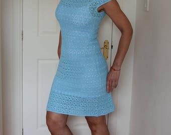 Crochet Women Dress, Beautifull Summer Dress. Handmade Crochet Elegant Dress