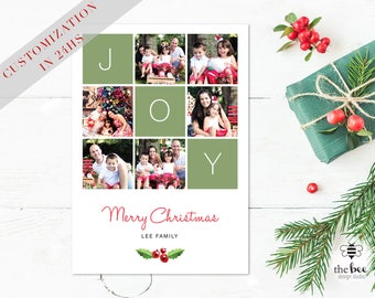 Christmas Card Family Customized in 24hs
