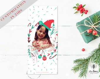 Christmas Gift / Card Printable Customized in 24hs