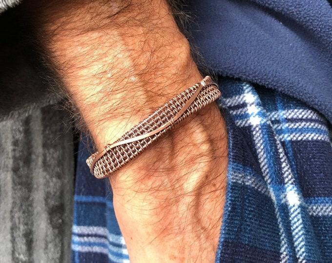 Featured listing image: Antique Copper Bracelet