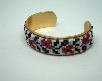 Ukrainian Beaded Cuff Bracelet