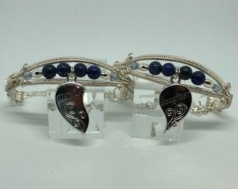Mother Daughter Charm Bracelets