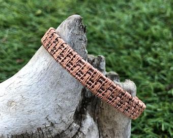 Antique Copper Bracelet