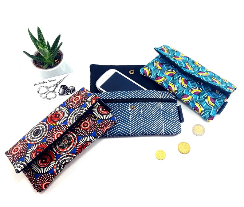 Cotton phone pouch / / phone case / / pouch Iphone / Samsung  image 0