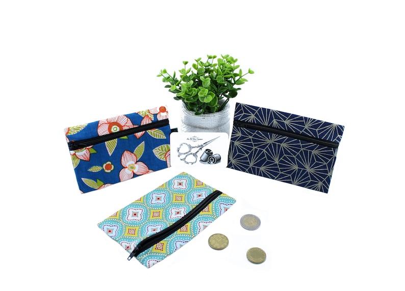 Flat cotton wallet image 0