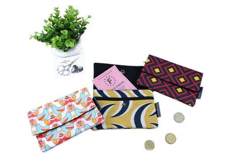 XXL cotton purse / / clutch image 0
